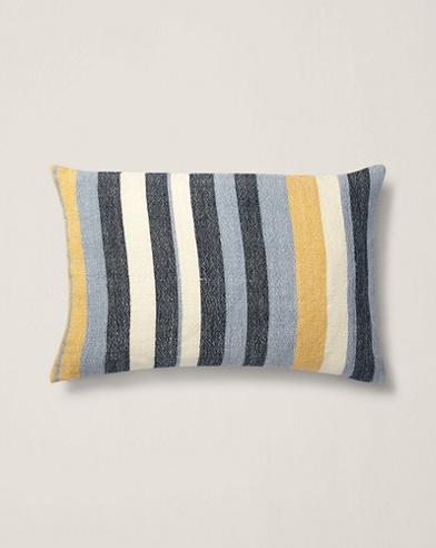 Garretson Linen Throw Pillow