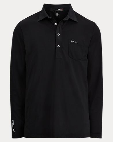 Custom Slim Long-Sleeve Polo