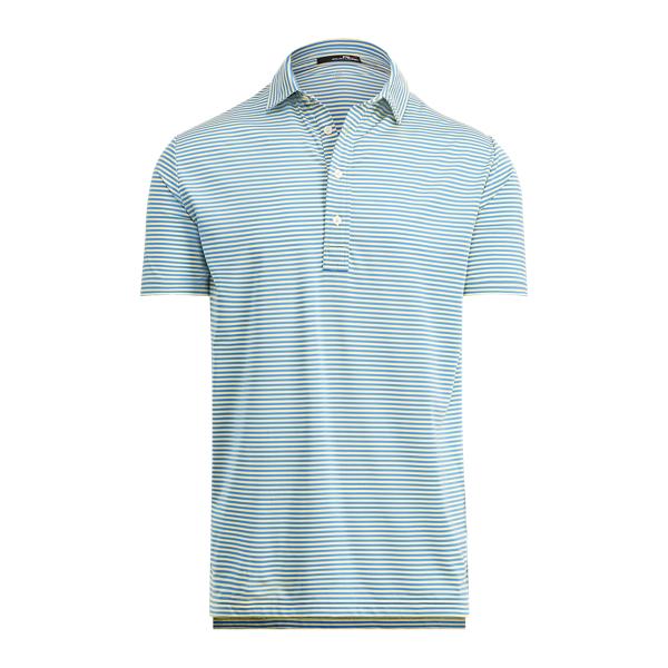 Ralph Lauren Active Fit Stretch Jersey Polo Bristol Yellow/Blue M