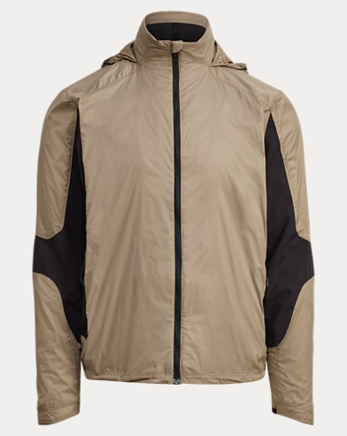 Paneled Hooded Jacket
