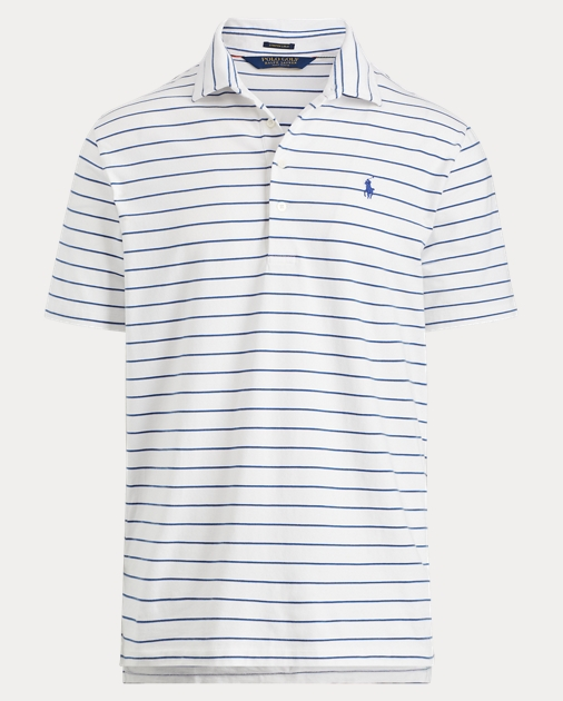 37a381eff5 Active Fit Stretch Lisle Polo