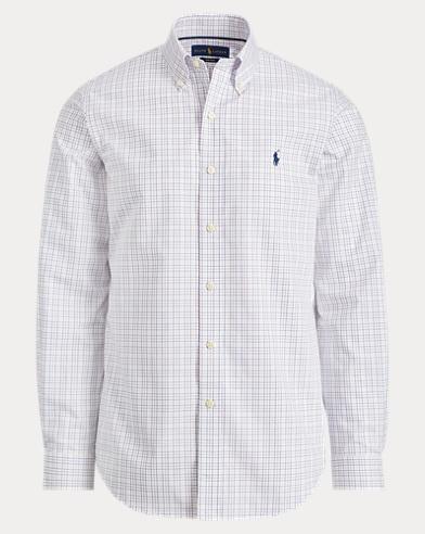 Plaid Easy Care Poplin Shirt