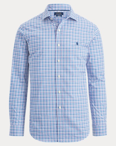 Plaid Easy Care Poplin Shirt