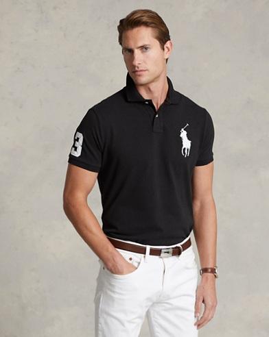 Big Pony Mesh Polo Shirt - All Fits