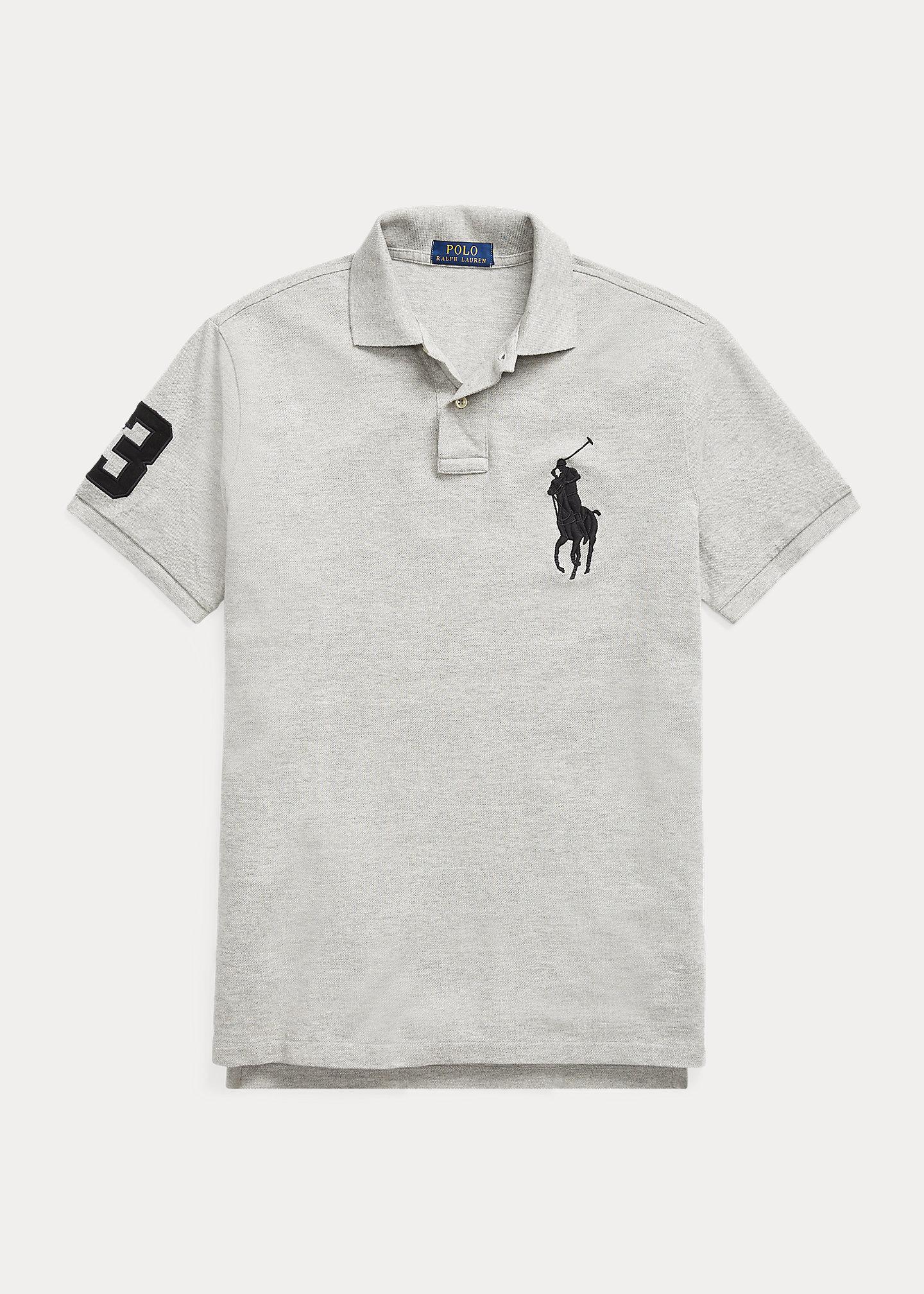 Polo Ralph Lauren Custom Slim Fit Mesh Polo 2