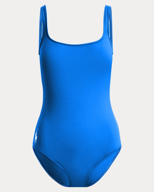 c329ccff2d Polo Ralph Lauren Scoopback One-Piece Swimsuit 2