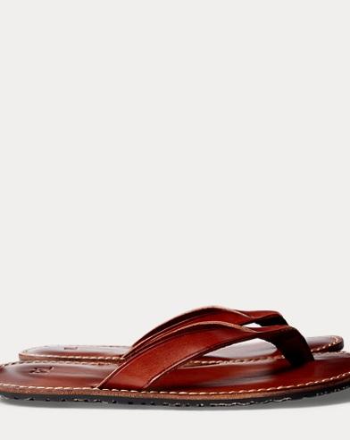 Leather Flip-Flop Sandal