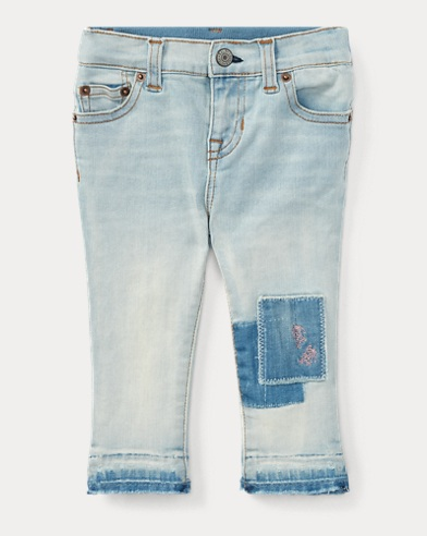 Embroidered Skinny Jean