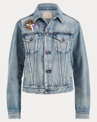 Patchwork Denim Trucker Jacket