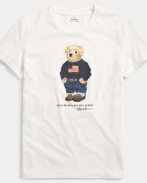 Polo Bear Cotton T Shirt Ralph Lauren De