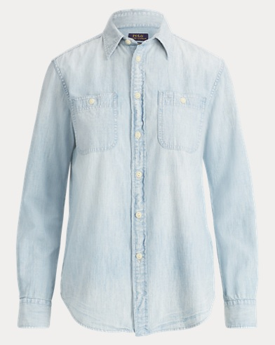 Polo Bear Chambray Shirt