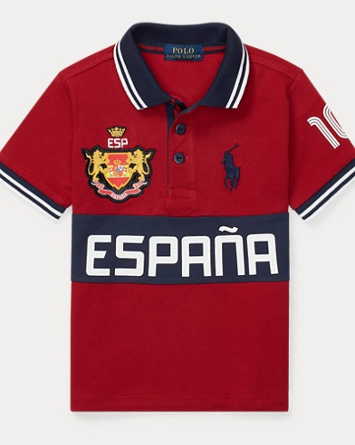Spain Cotton Mesh Polo Shirt