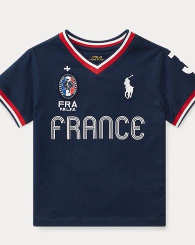 France Cotton Jersey T-Shirt