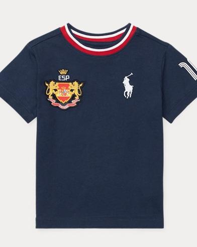 Spain Cotton Jersey T-Shirt