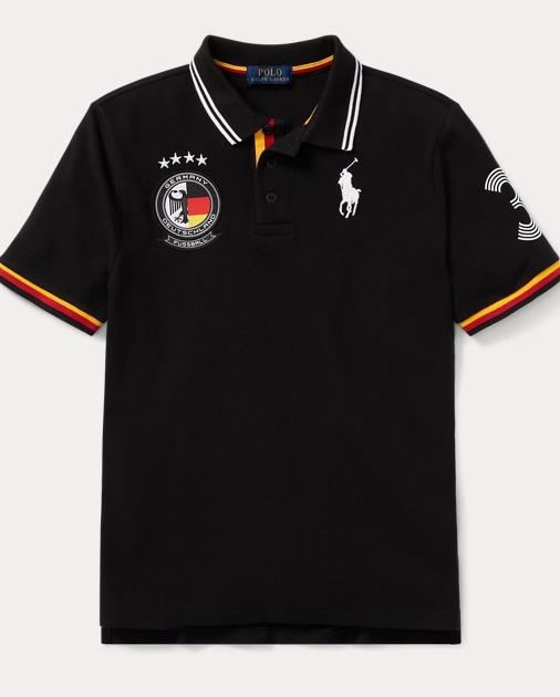 da021156f Germany Cotton Mesh Polo Shirt