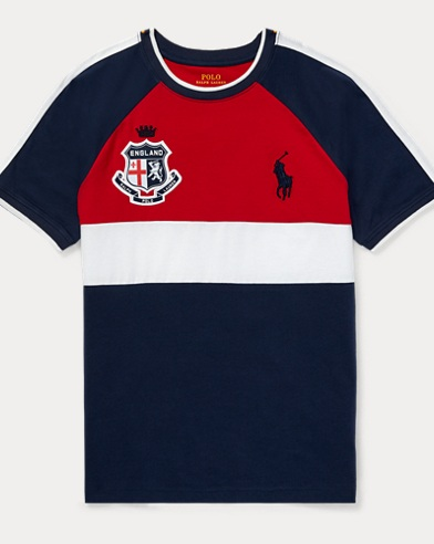 England Cotton Jersey T-Shirt