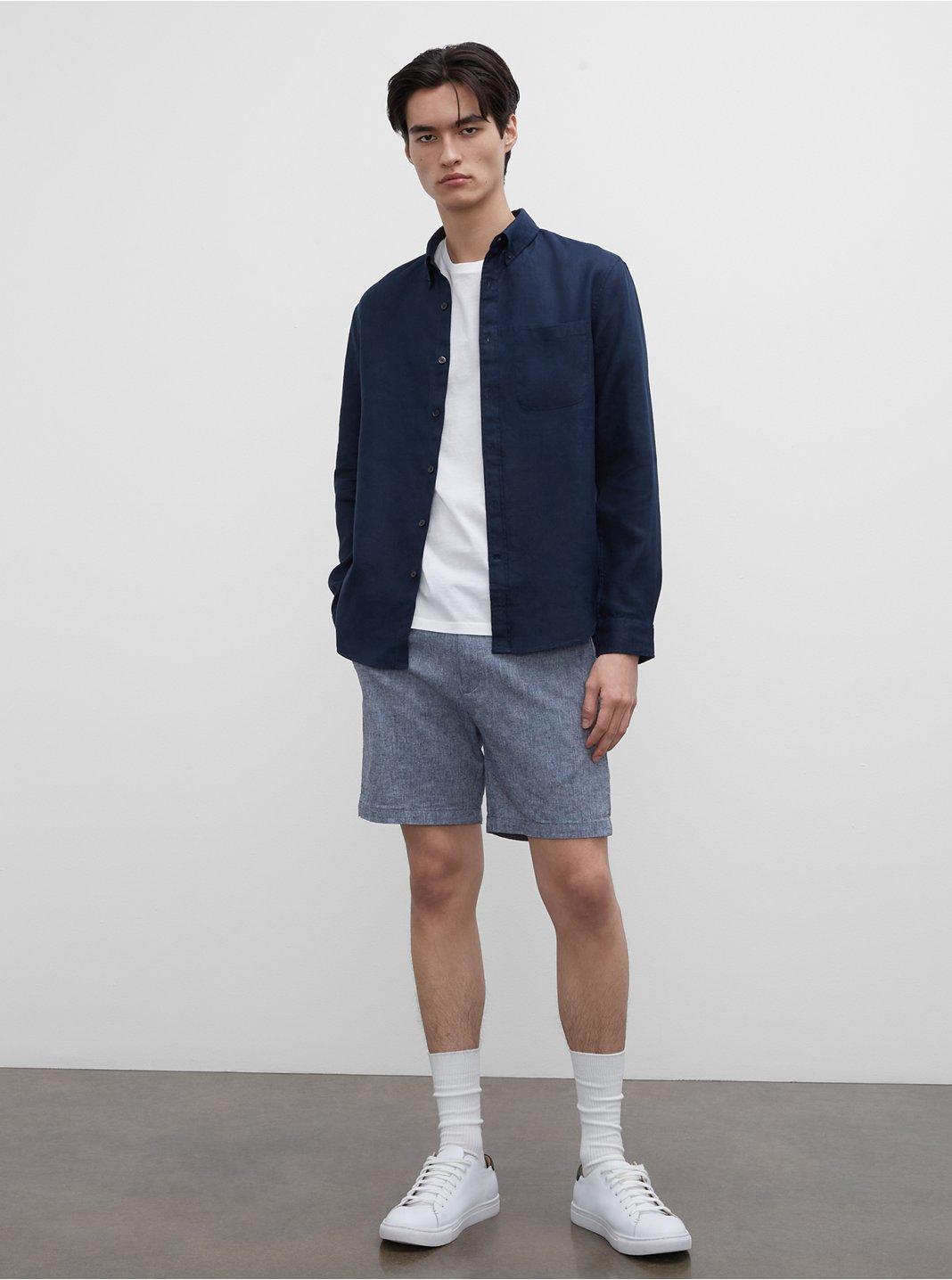 """Baxter 7"""" Chambray Shorts"""