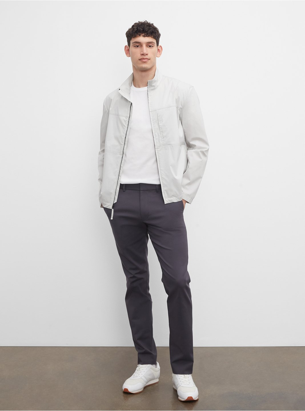 클럽 모나코 맨 팬츠 Club Monaco Modern Dress Trouser,Obsidian