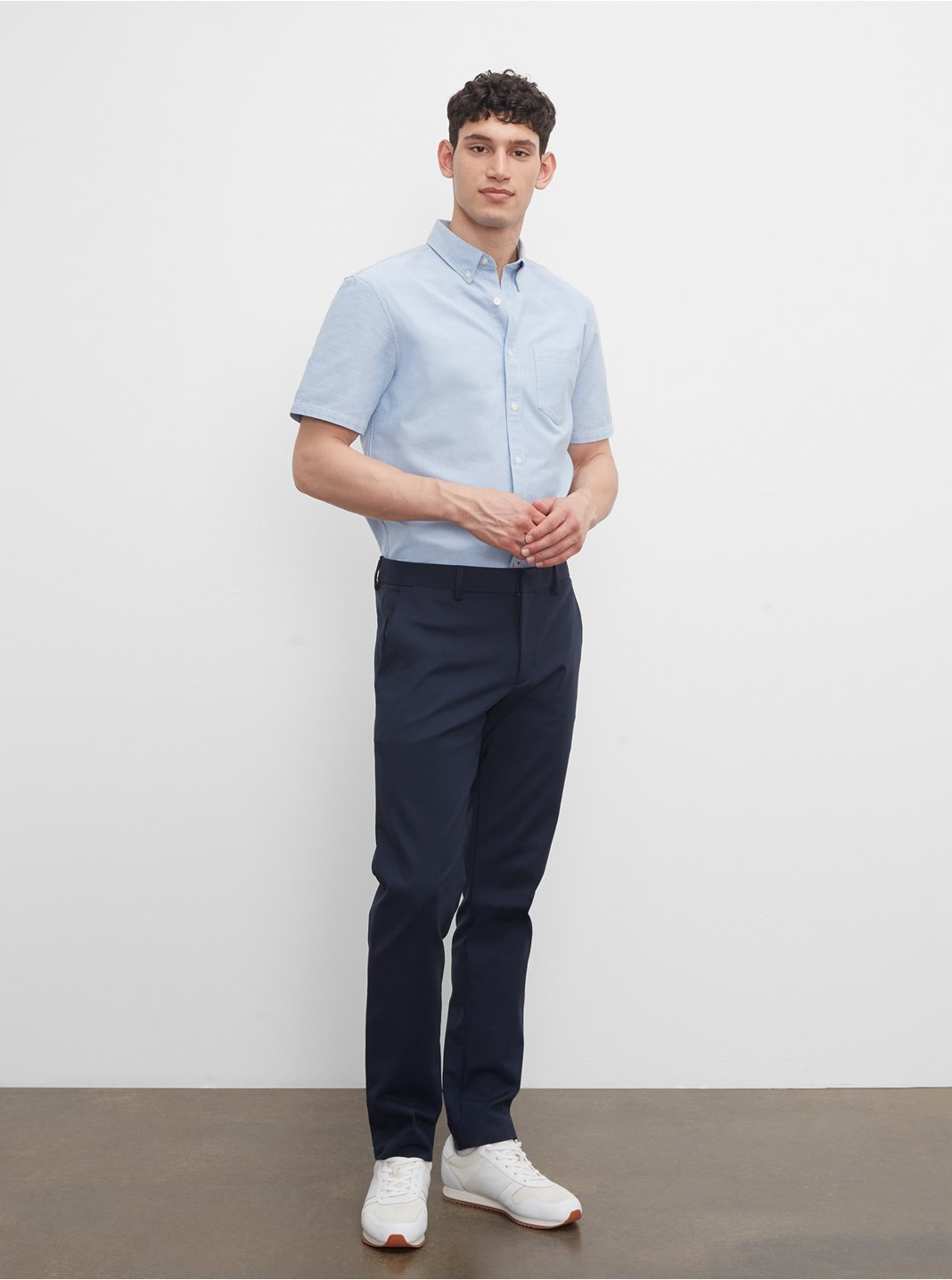 클럽 모나코 맨 팬츠 Club Monaco Modern Dress Trouser,Navy