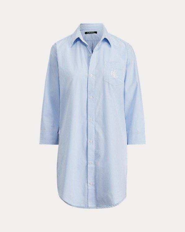 Polo Ralph Lauren Striped Cotton Sleep Shirt