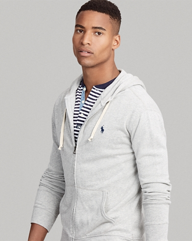 Classic Fit Spa Terry Hoodie