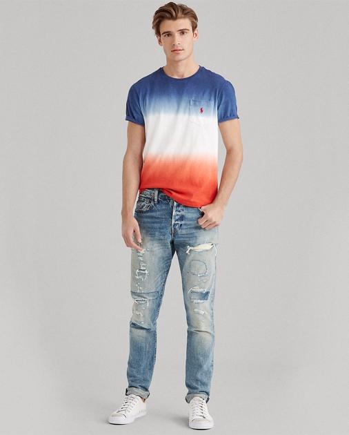 685d5ff662633d Polo Ralph Lauren Custom Slim Fit Cotton T-Shirt 1