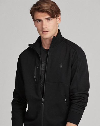 Double-Knit Track Jacket