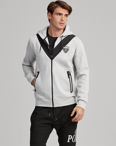 Active Fit Double-knitted Hoodie