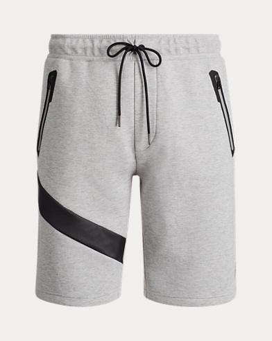 Active-Fit doppellagige Shorts