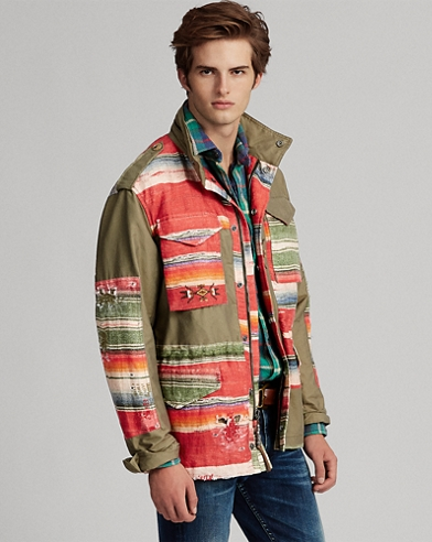 Serape Field Jacket