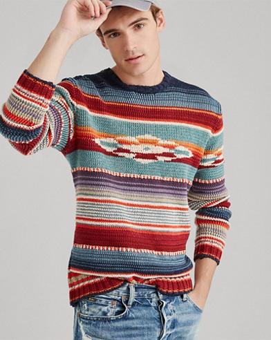 Serape Crewneck Sweater