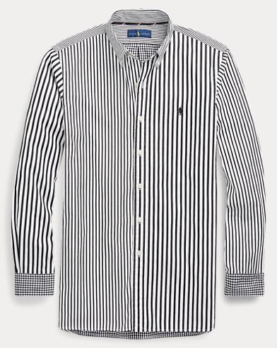 Fröhliches Classic-Fit-Baumwollhemd