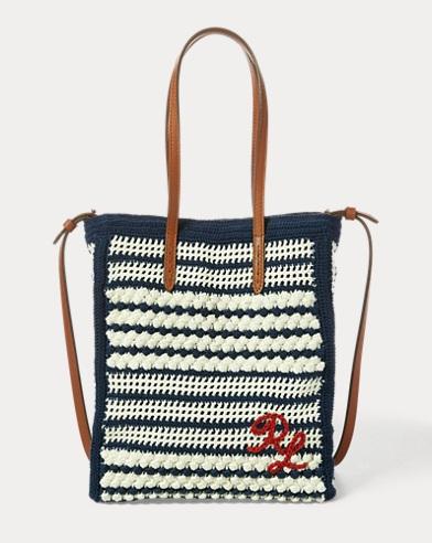 Crocheted Mini Modern Tote