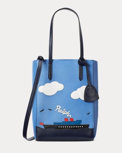 Ralph Lauren. Calfskin Mini Modern Tote. $1,100.00. Steamboat Mini Modern  Tote Bag