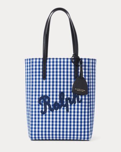 Gingham Mini Modern Tote Bag