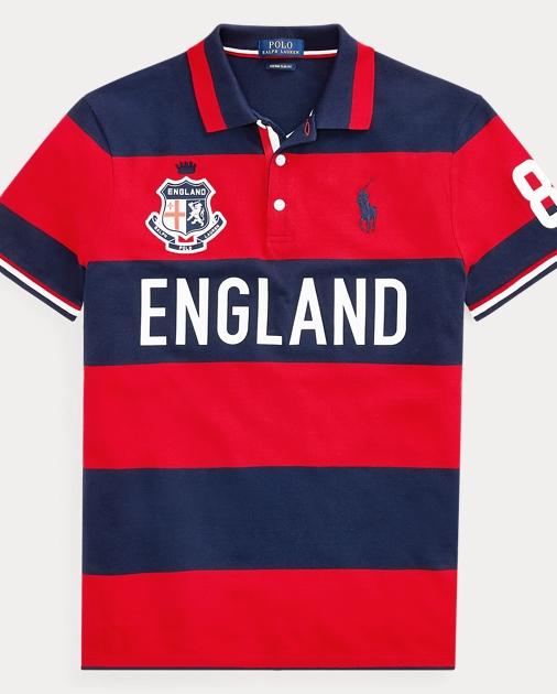 7ed347c554b723 Custom Slim Fit England Polo   Ralph Lauren UK