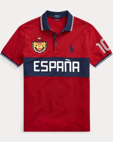 Custom Slim Fit Spain Polo