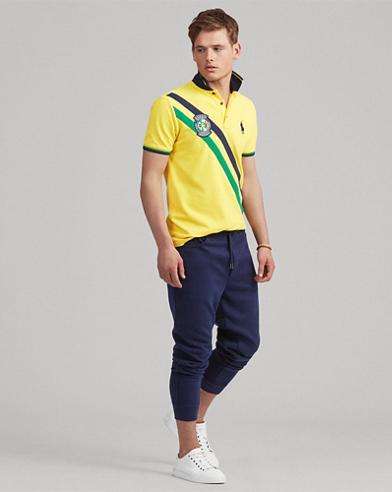 Custom Slim Fit Brazil Polo