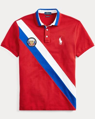 Custom Slim Fit Russia Polo