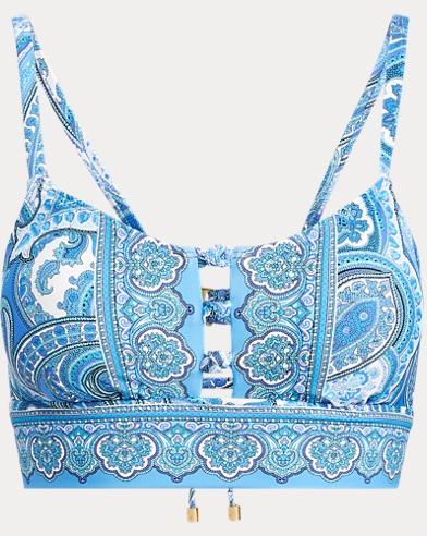 Paisley Bikini Top