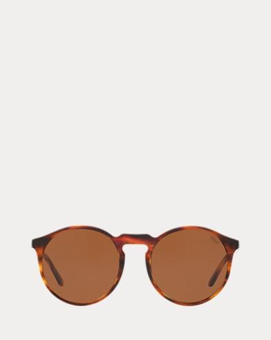 Panto-Sonnenbrille in Schildpatt