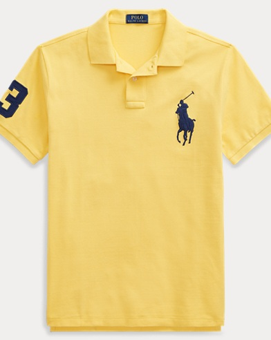 Polo de piqué slim-fit