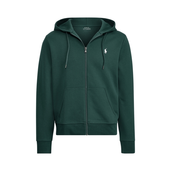 Ralph Lauren Double-Knit Hoodie College Green S