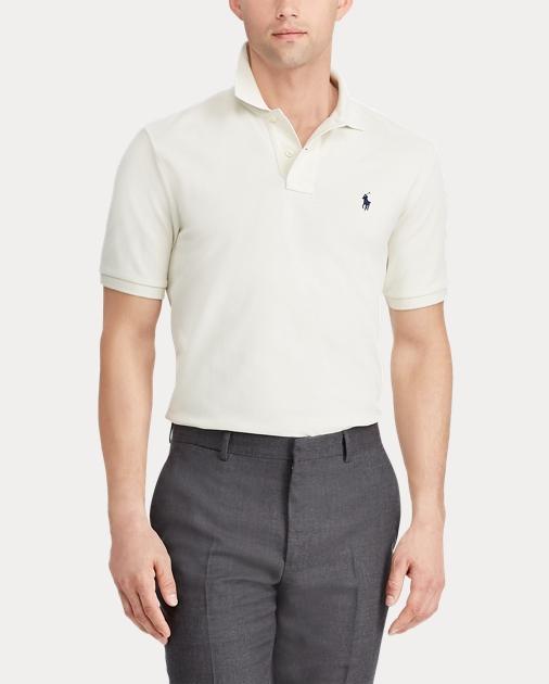 low priced b1607 7f7c3 Slim Fit Mesh Polo Shirt