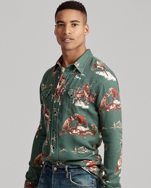 Shirt Classic Fit Western Classic Fit 0PXnk8wO