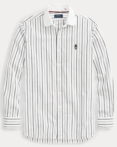 Gestreiftes Classic-Fit Hemd