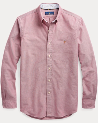 Camicia Oxford Slim-Fit