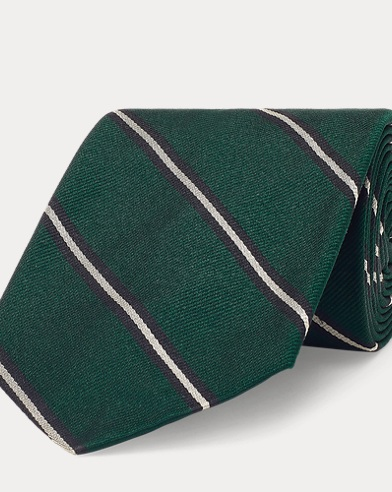 Cravate étroite en soie