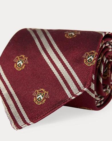 Vintage-Inspired Silk Tie