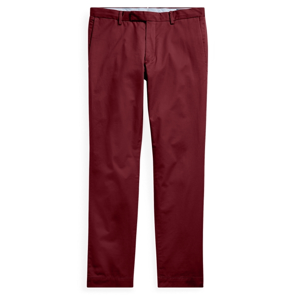 Ralph Lauren Stretch Slim Fit Cotton Chino Classic Wine 28
